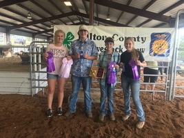 Highland FFA Shines at Fulton County Fair