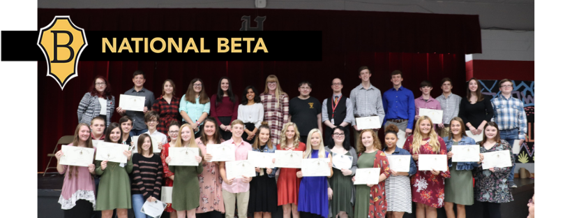 Highland High School Named National Beta School of Distinction