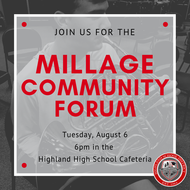 Millage Community Forum