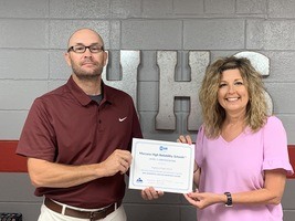 HHS is Second School in Arkansas to Earn Special Certification