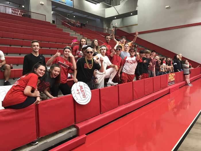 Rebels volleyball fans