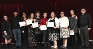 RHO KAPPA inductees