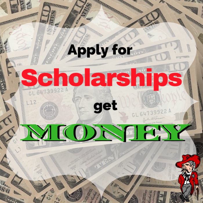 Scholarships = Money