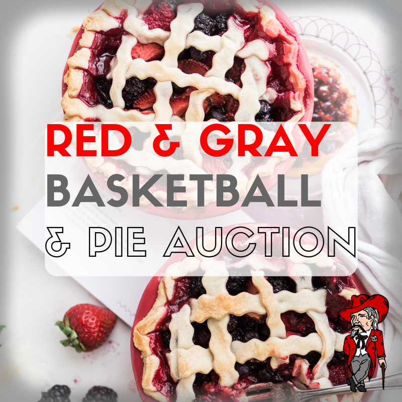 Red & Gray Basketball and Pie Auction