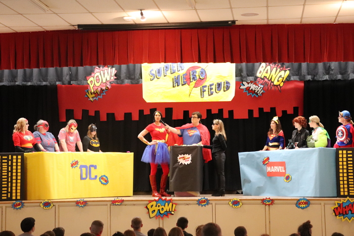 Testing Pep Rally - DC vs Marvel